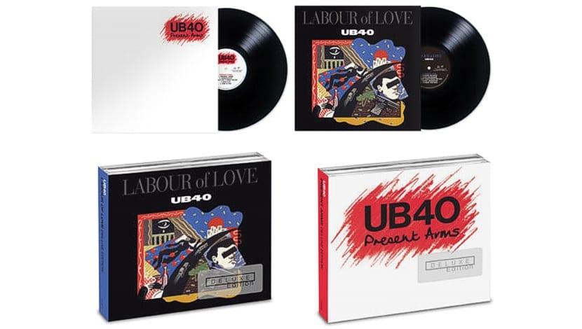 Editan versiones de lujo de dos álbumes de UB40