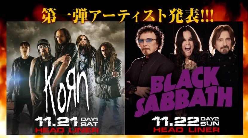 Ozzfest Black Sabbath Korn