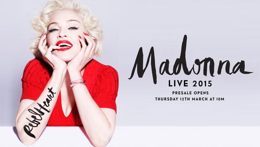 Rebel Heart Tour Madonna