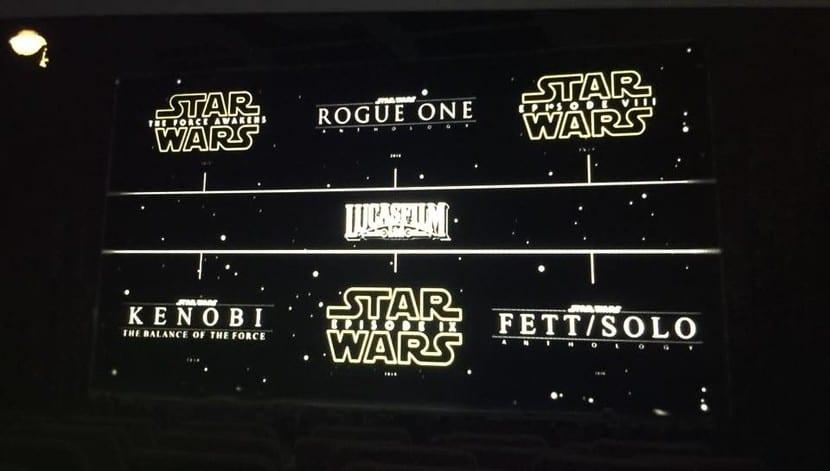 Calendario Lucasfilm