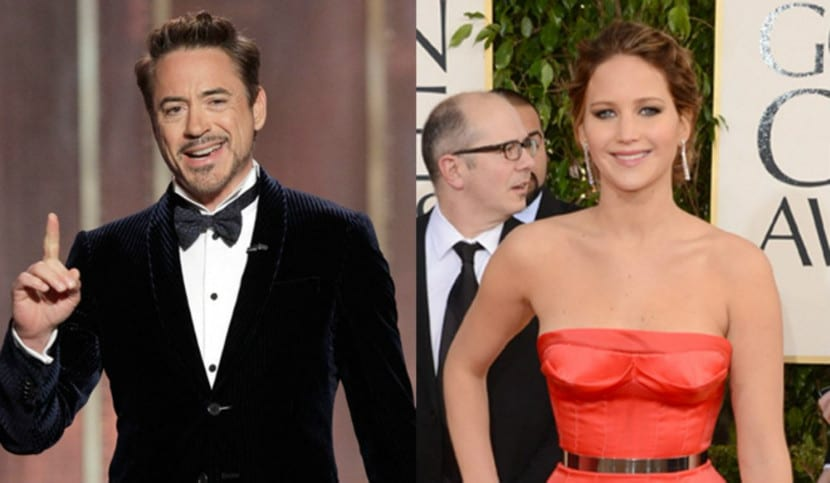 Robert Downey Jr. y Jennifer Lawrence