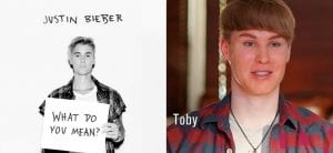 Justin Bieber What Do You Mean Toby