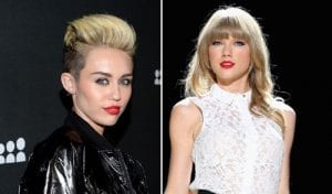 Taylor Swift Miley Cyrus