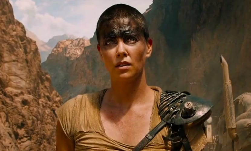 Charlize Theron en Mad Max Fury Road