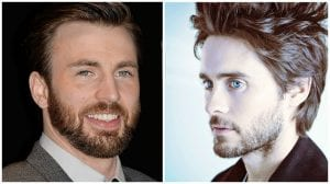 Chris Evans y Jared Leto