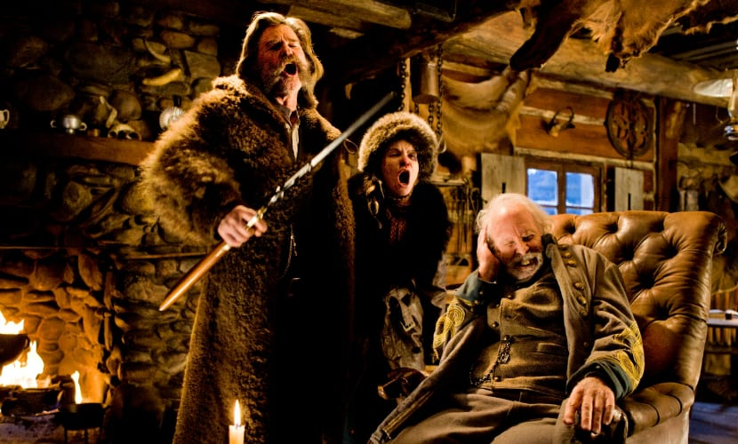 Kurt Russell en The Hateful Eight