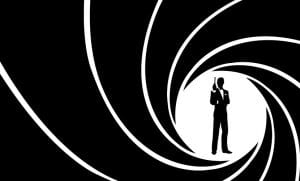 Silueta James Bond