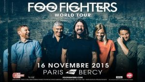 Foo Fighters gira París