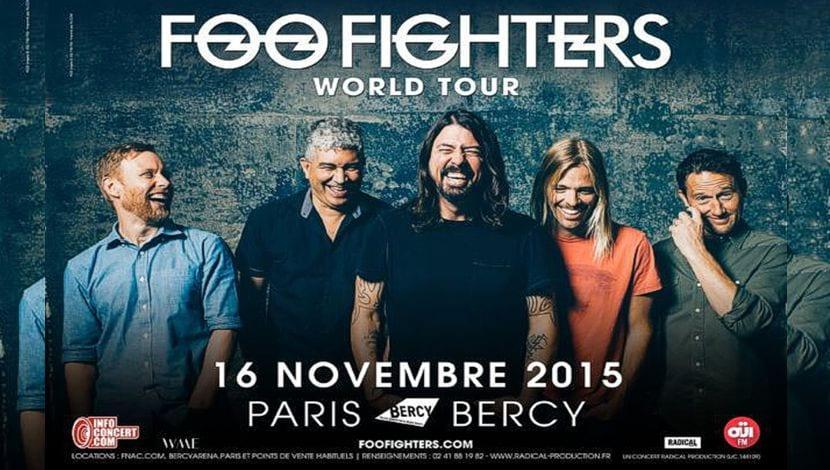 Foo Fighters gira París