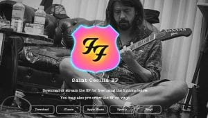 Foo Fighters St. Cecilia