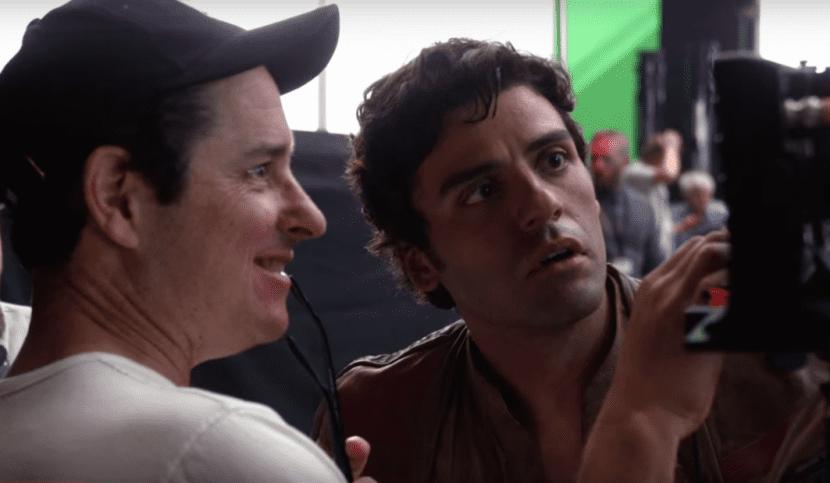 JJ Abrams y Oscar Isaac
