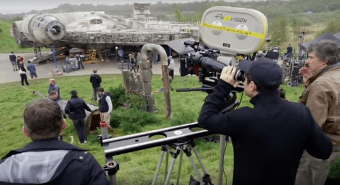 Rodaje Star Wars