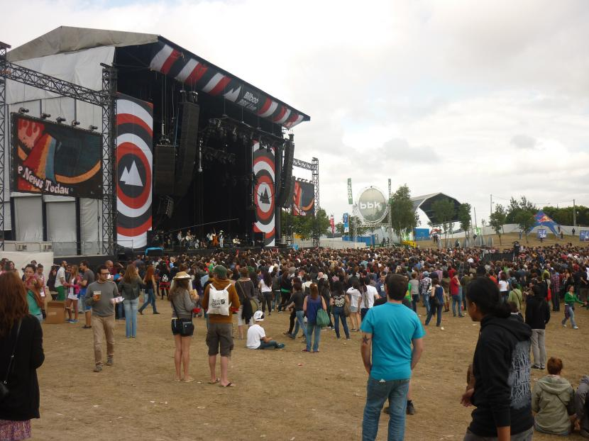 Concierto del festival Chip