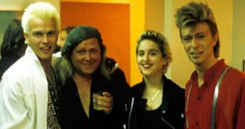 Madonna interpreta a Bowie