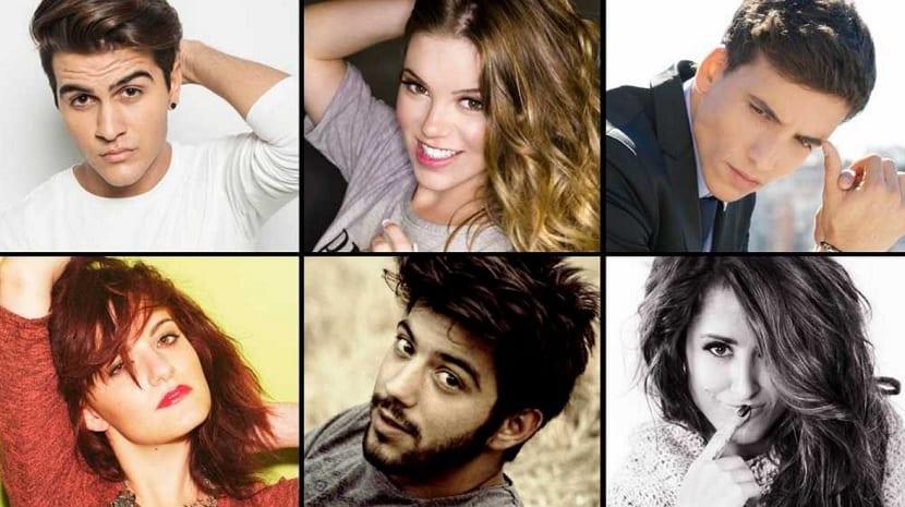 Candidatos Eurovisión 2016