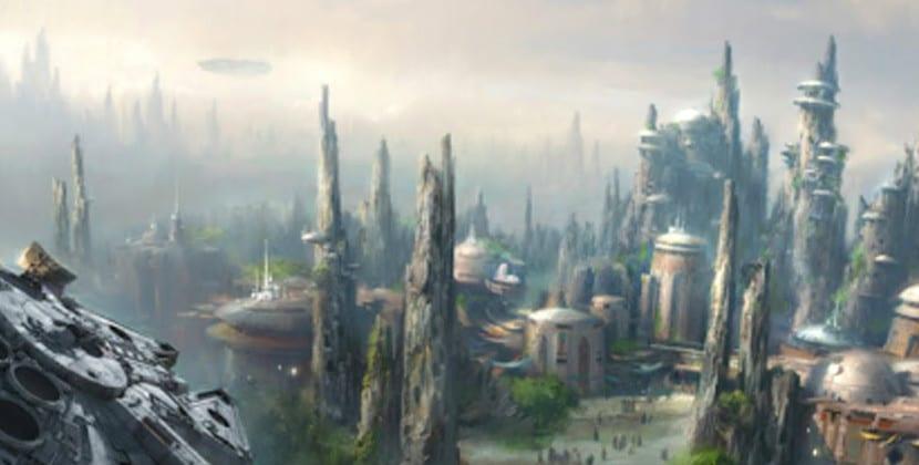 Parque atracciones Star Wars