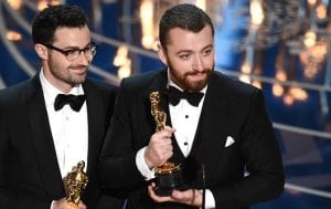 Oscars 2016: Sam Smith gana el premio a la mejor canción original con 'Writing's on the wall'