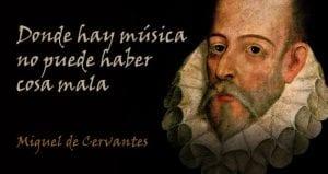 Cervantes música