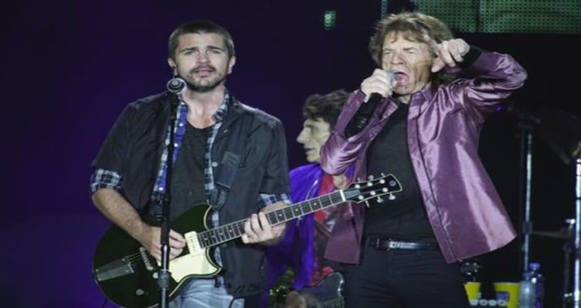 Juanes y Rolling