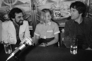 Martin Scorsese Robert de Niro y Jodie Foster