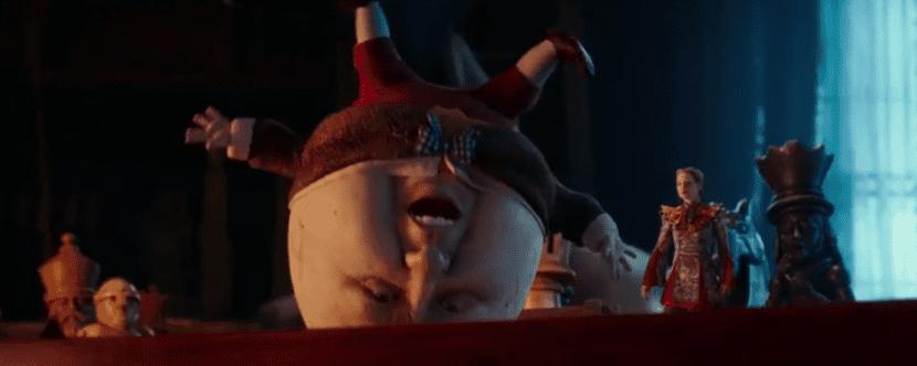 Alicia a traves del espejo personajes Humpty Dumpty