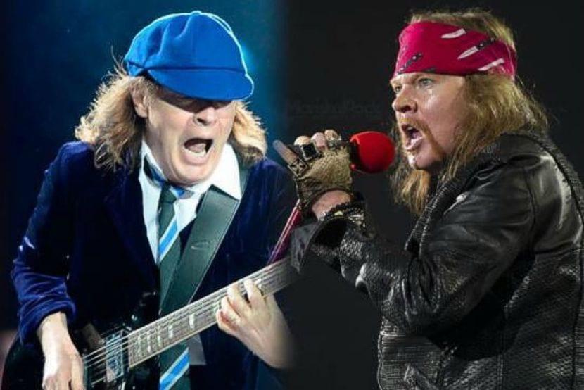 Axl Rose sustituirá a Brian Johnson en AC/DC
