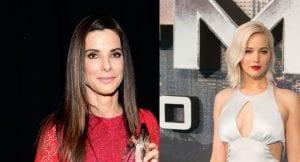 Ocean´s Eleven con Jennifer Lawrence y Sandra Bullock