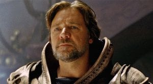 "Russell Crowe en ""The Mummy"""