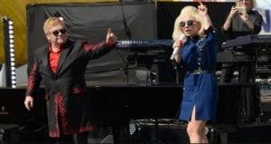 Lady Gaga y Elton John