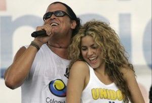 Shakira y Carlos Vives juntos