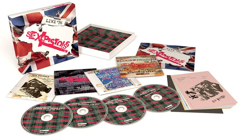 Live 76 Sex Pistols box