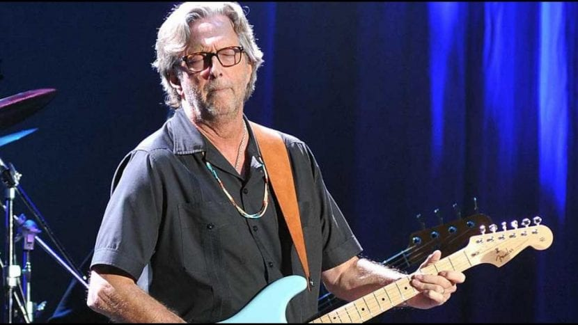 Problemas para tocar la guitarra para Eric Clapton