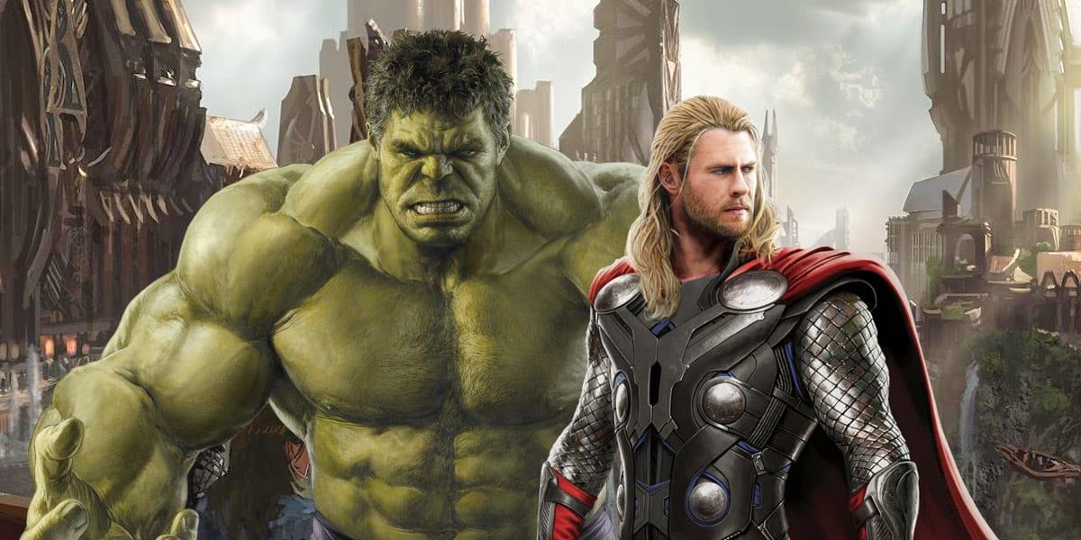 Hulk y Thor actores