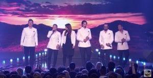 Meghan Trainor canta junto a los Backstreet Boys