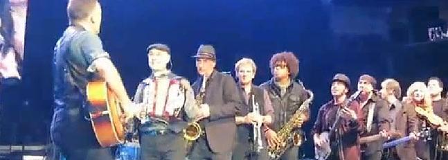 Springsteen, a ritmo de conga