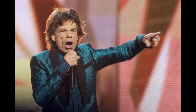 Y van 73…Mick Jagger