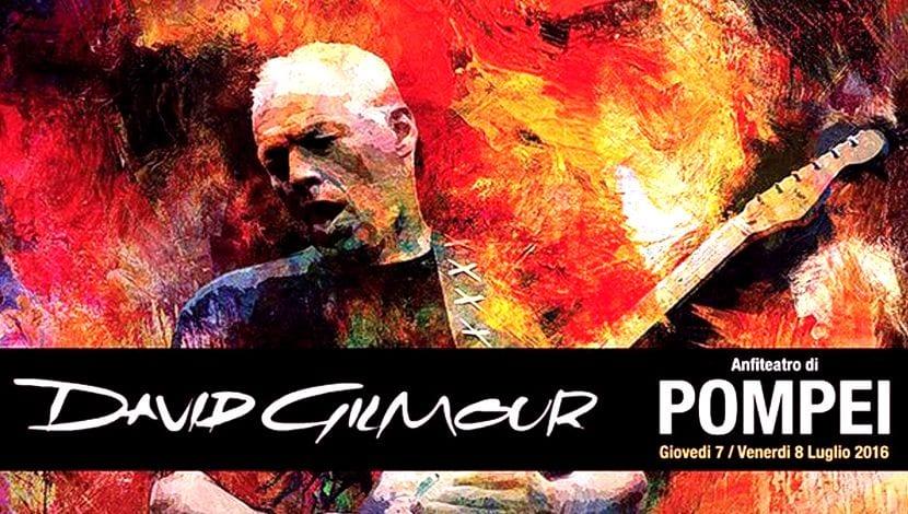 David Gilmour Pompeya
