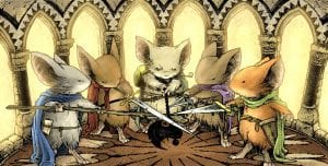 mouse guard personajes