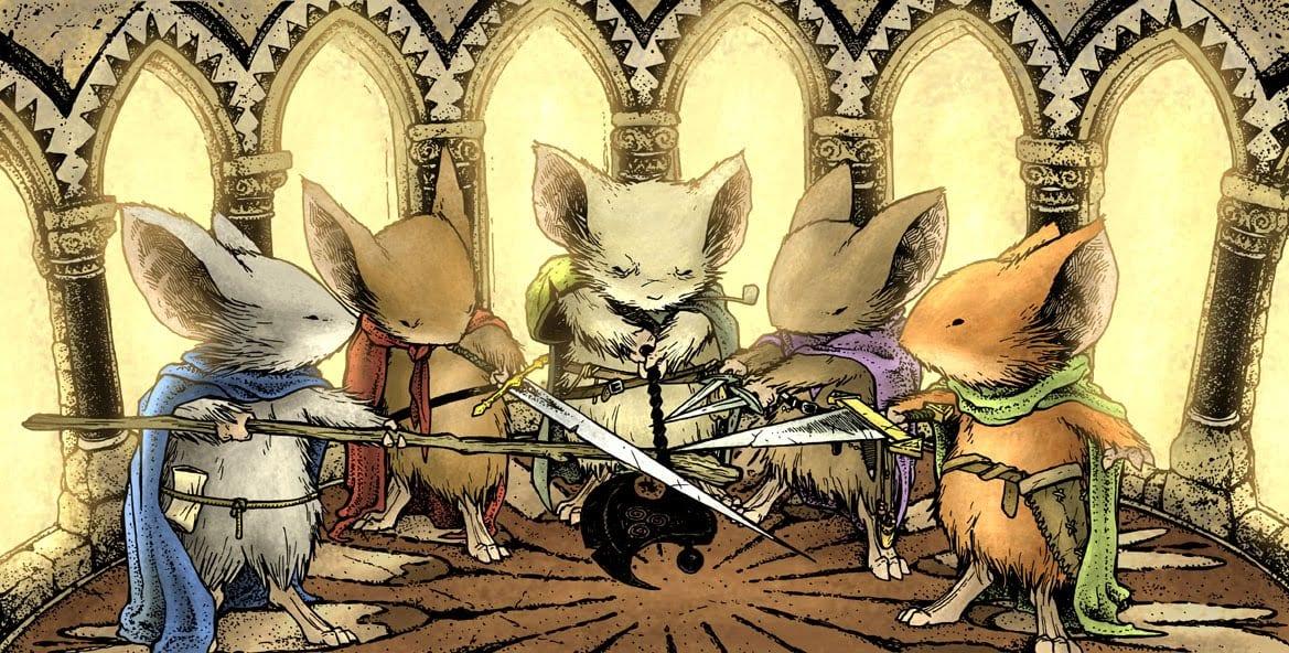 mouse guard personajes