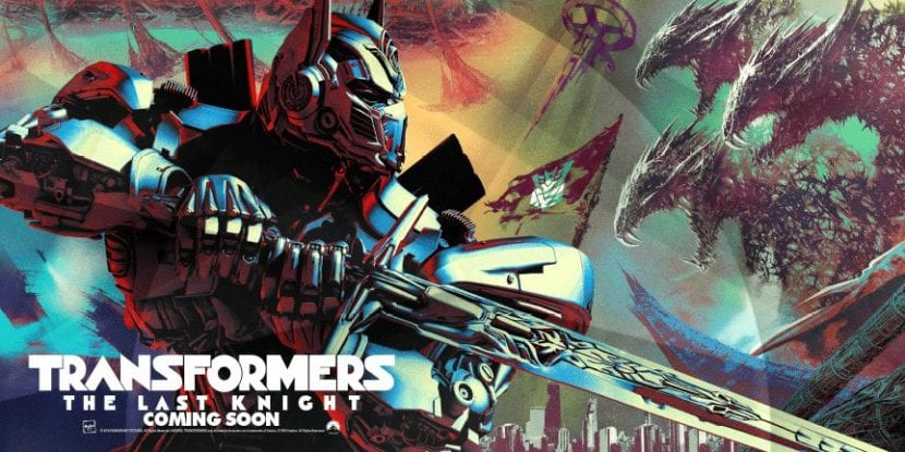 Por fin hay cartel de 'Transformers: The Last Knight'