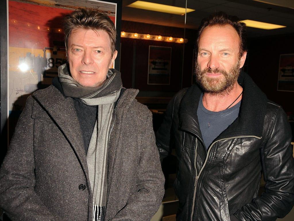 Sting afirma que se ha inspirado en David Bowie para su nuevo disco