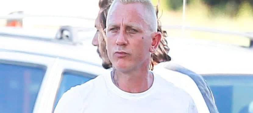 Daniel Craig cambia de look y se hace malo