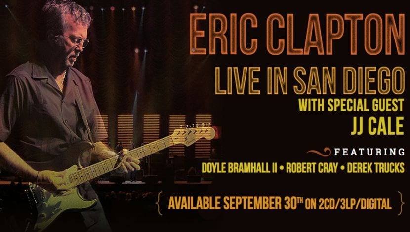Live in San Diego Eric Clapton