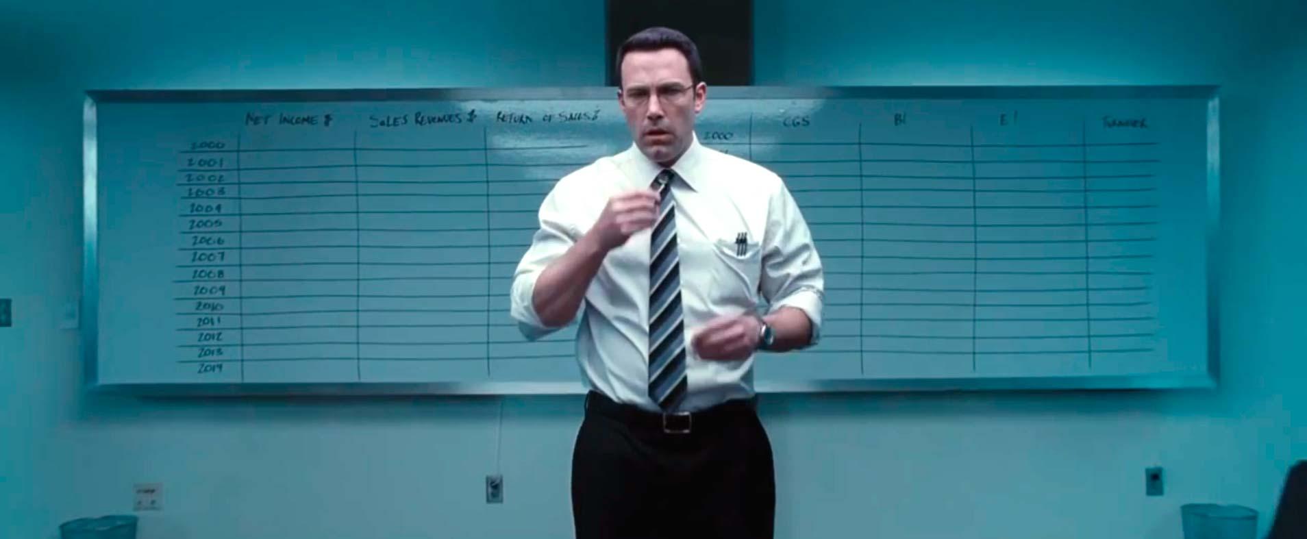 """El contable"""", con Ben Affleck"""