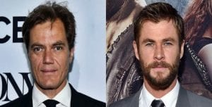 "Chris Hemsworth y Michael Shannon, ""Horse Soldiers"""