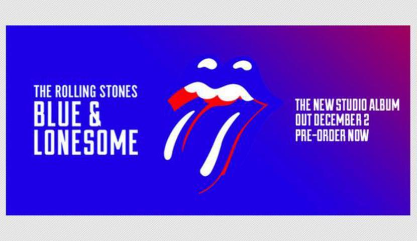"""Se confirma el nuevo LP de Rolling Stones, """"BLUE & LONESOME"""""""