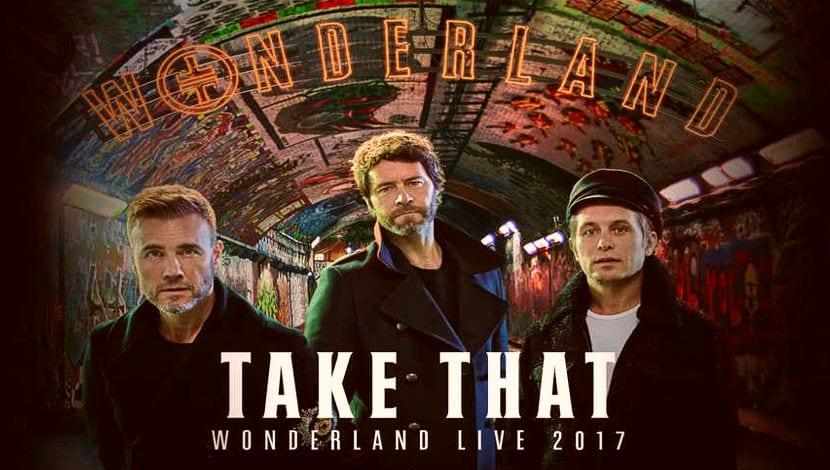 Wonderland Take That 2017