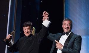 Jackie Chan recibe un Oscar honorífico