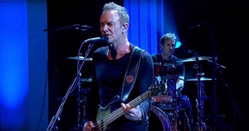 Sting presentará su nuevo disco el 21 de marzo en Barcelona
