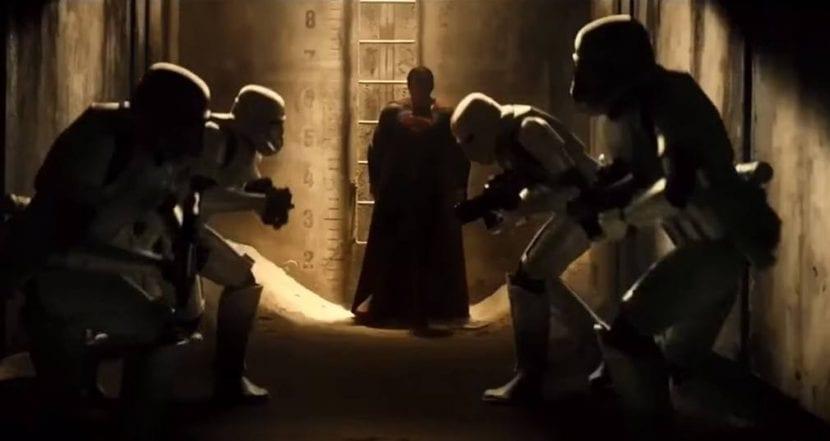 mashup entre el universo DC y Star Wars